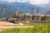 Dağlarda bina — Stok fotoğraf
