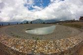Artificial pond — Stock Photo