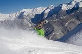 Freerider сноуборд — Стоковое фото