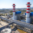 Stock Photo: Thermal power plant