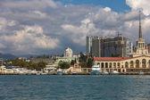 Sochi passenger port — Stock Photo