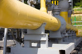 Pipes of power plant — Stock Photo