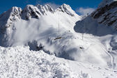 Mountains of Krasnaya Polyana, Sochi, Russia — Foto Stock