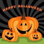 Happy halloween greeting — Stock Vector
