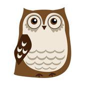 Cute owl — Stock Vector