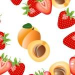 Fruit seamless background — Stock Vector #7557234