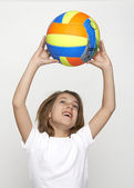 Volley child — Stock Photo