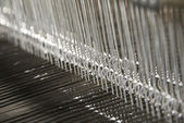 Textile industry — Stock Photo