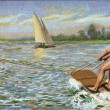 Water skiing — Stock Photo #18581957