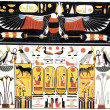 Ancient egypt illustration - Stock Photo