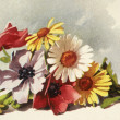 Stock Photo: Flowers illustration