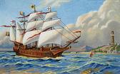 Barco antigo — Fotografia Stock
