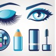 Eye icons — Stock Vector