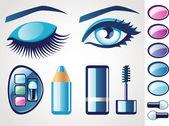 Eye icons — Stock Vector