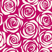 Seamless roses — Stock Vector