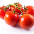 Tomatoes with stem — Stock Photo