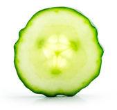 Sliced cucumber — Stock Photo