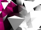 Abstrait triangulaire — Vecteur