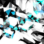 Abstract Background from Polygons — Stockvektor