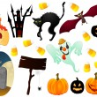 Royalty-Free Stock Vector Image: Halloween icon set