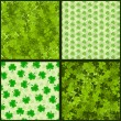 Royalty-Free Stock Vector Image: Seamless St. Patrick\'s Collection