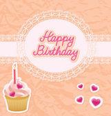 Birthday card — Stock Vector