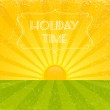 Holiday Time — Stock Vector
