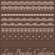 Laces Brushes Set - Stock Vector