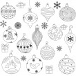 Christmas Ornaments — Stock Vector #31360537