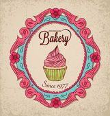 Vintage Bakery — Wektor stockowy