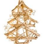 Christmas tree abstract stylized — Stock Photo #13355246