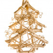 Christmas tree abstract stylized — Stock Photo