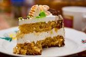 蜂蜜ケーキの作品 — ストック写真