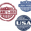 Vintage Made in USA Stamps — Stock Vector #21147819