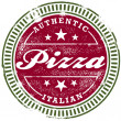Vintage Pizza Stamp — Stock Vector