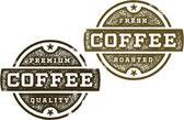 Vintage Style Coffee Grphics — Stock Vector