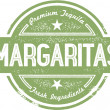 Margaritas Cocktail Stamp — Stockvektor