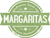 Margaritas Cocktail Stamp — Stock Vector