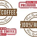 Arabica Coffee Beans — Vector de stock  #42847511