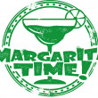 Margarita Time — Vector de stock