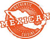Meksika yemeği — Stok Vektör