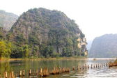 Halong Bay on Land, Tam Coc — Stock Photo