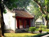 Chrám literatury, hanoj — Stock fotografie
