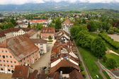Solothurn, most beautiful baroque city of Switzerland — Stock Photo