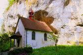 Kyrkan i klippan — Stockfoto
