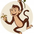 Monkey - Stock Vector