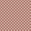 Stock Vector: Gingham pattern