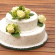 Wedding cake — Stock Photo #19442201