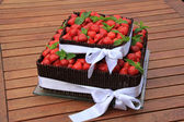 Strawberry cake — Foto de Stock