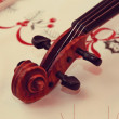 Stock Photo: Old violin